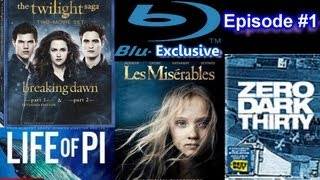 Baixar Blu-Exclusive - Twilight Saga Breaking Dawn, Hobbit, Life of Pi, Zero Dark Thirty, Les Miserables
