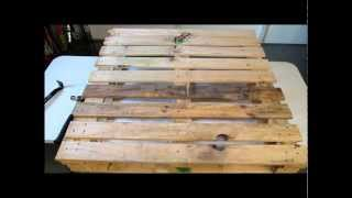 Diy Prepping:  From Pallet To Planter Pt. 1