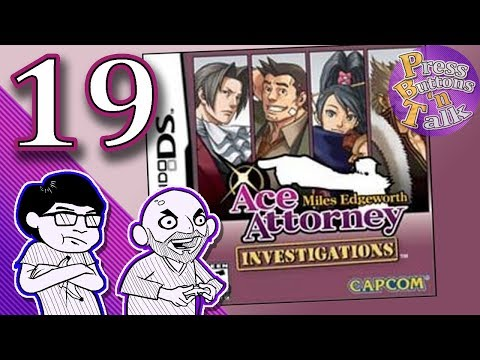 Ace Attorney Investigations: Miles Edgeworth, Ep. 19: A Man Dies - Press Buttons 'n Talk