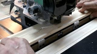 Изготовление декора на фрезерном станке. Часть 5. Making wooden molding.
