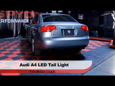 Spyder Auto Installation 2006 08 Audi A4 S4 Led Tail