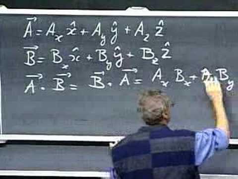 MIT Professor Walter Lewi's Physics Class 801