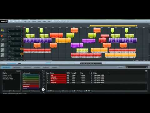 New | MAGIX Music Maker 2013 | Electro Trance techno Dance