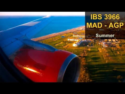 FULL FLIGHT | Madrid - Málaga | IBERIA EXPRESS