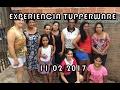 EXPERIÊNCIA TUPPERWARE (REUNIÃO) COM MINHA LÍDER SUELLEN OLIVEIRA | 11/02/2017