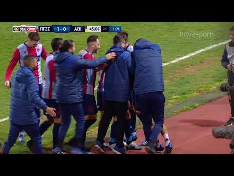 Panionios AEK Goals And Highlights