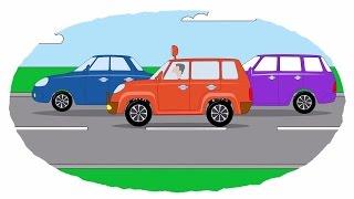 Das Zeichentrick-Malbuch - Alle Autos