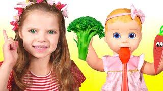 Sí Sí Verduras Canción - Canción Infantil | Canciones Infantiles con Nicole