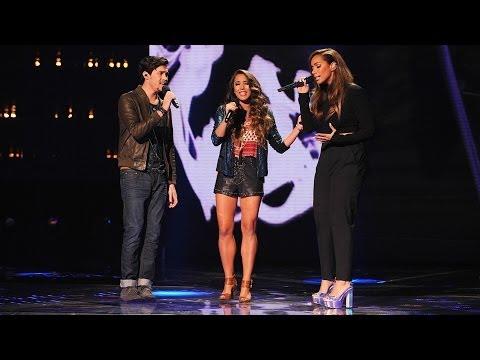 "Alex & Sierra and Leona Lewis ""Bleeding Love"" - Live Week 8: Finals - The X Factor USA 2013"