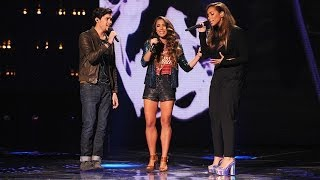alex sierra and leona lewis bleeding love live week 8 finals the x factor usa 2013
