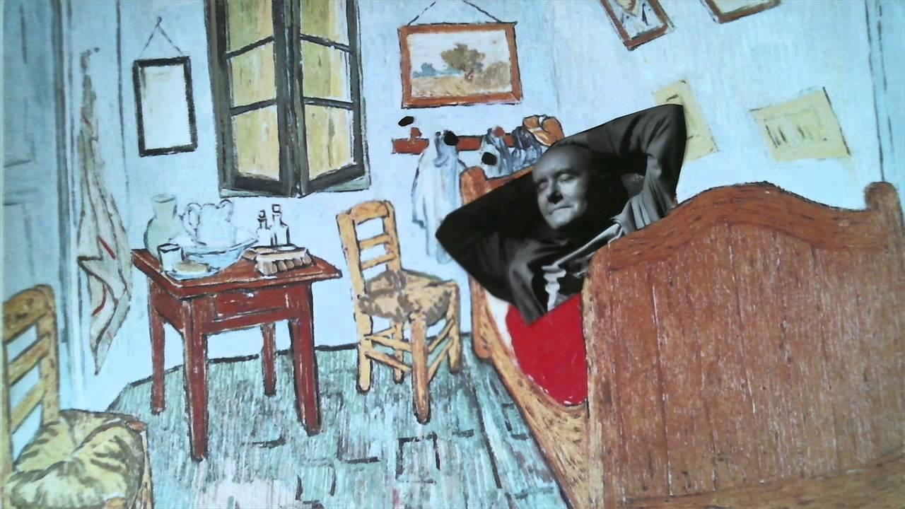 fachtag kunst: der träumer (van gogh: schlafzimmer in arles) - youtube