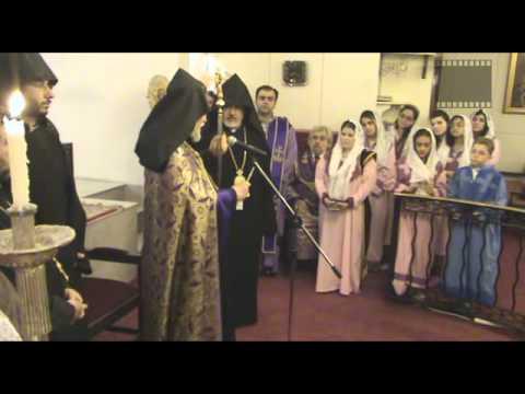 Catholicos Kuwait Armenian CHURCH HayTV