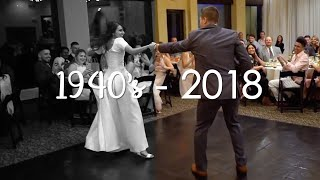 Bride & Groom Dance Through the Decades | The Always Home First Dance