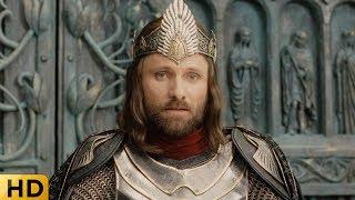 Коронация Арагорна. Властелин колец: Возвращение короля.