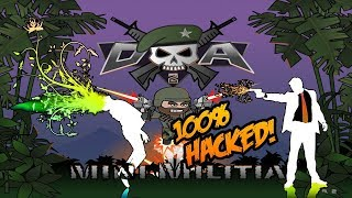 Mini militia hacked version 4.0.11 || no root || new hack 2018 ||