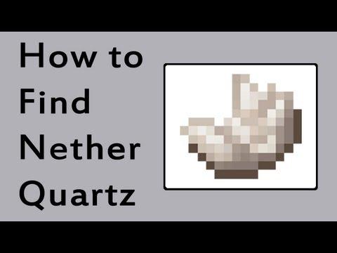 Minecraft How To Find Quartz Easy
