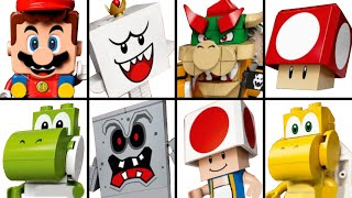 LEGO Super Mario - All Sets, Power-Ups, Bosses & All Character Packs Unboxing Showcase + Trailer