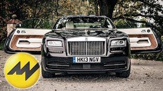 Der ultimative Grand Tourer?  Rolls Royce Wraith  Motorvision