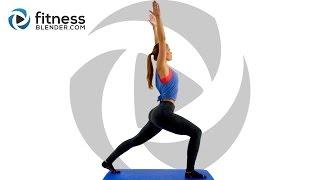3 Day Flexibility Challenge Day 1: Fluid Full Body Stretches for Flexibility #FBreach
