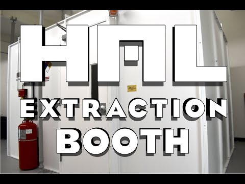 HAL Extraction | UL Certified C1D1 Extraction Booths