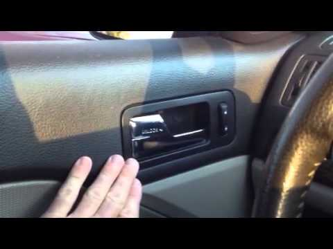 Ford Fusion Mercury Milan And Lincoln Mkz Broken Door
