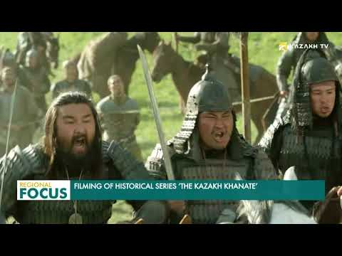 Filming of historical series 'The Kazakh Khanate'