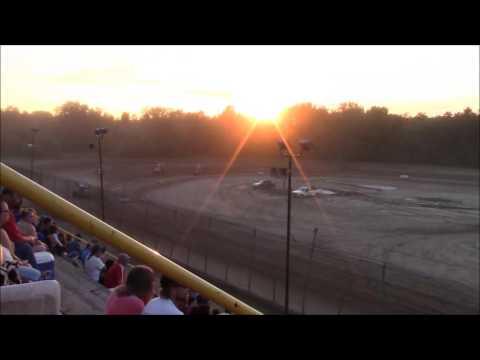Butler Motor Speedway Sprint Heat #2 7-16-16
