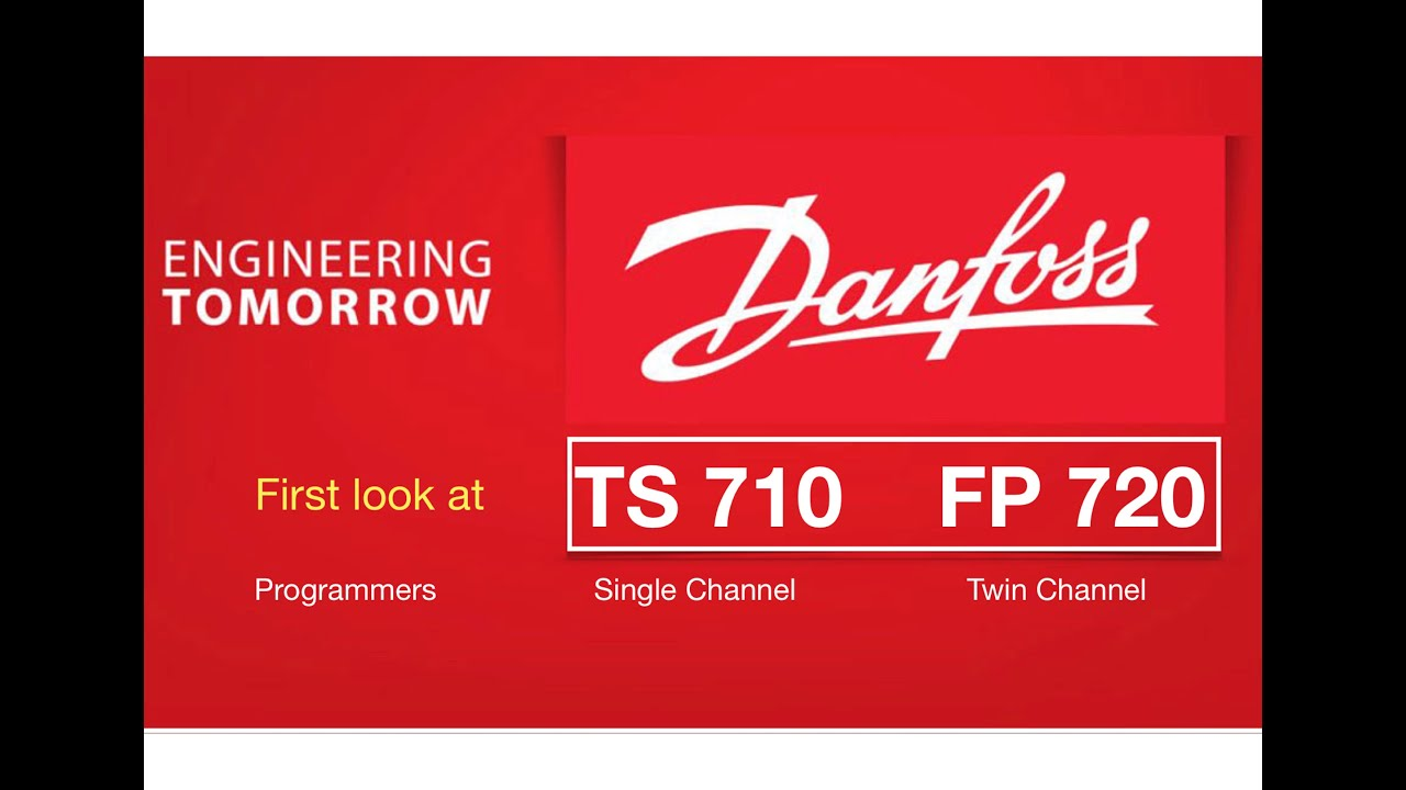 Danfoss Ts710 Fp720 Programmers Youtube