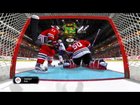 NHL Legacy Edition 2016 Quarterfinal Game 3 St.  Louis Blues vs Chicago Blackhawks