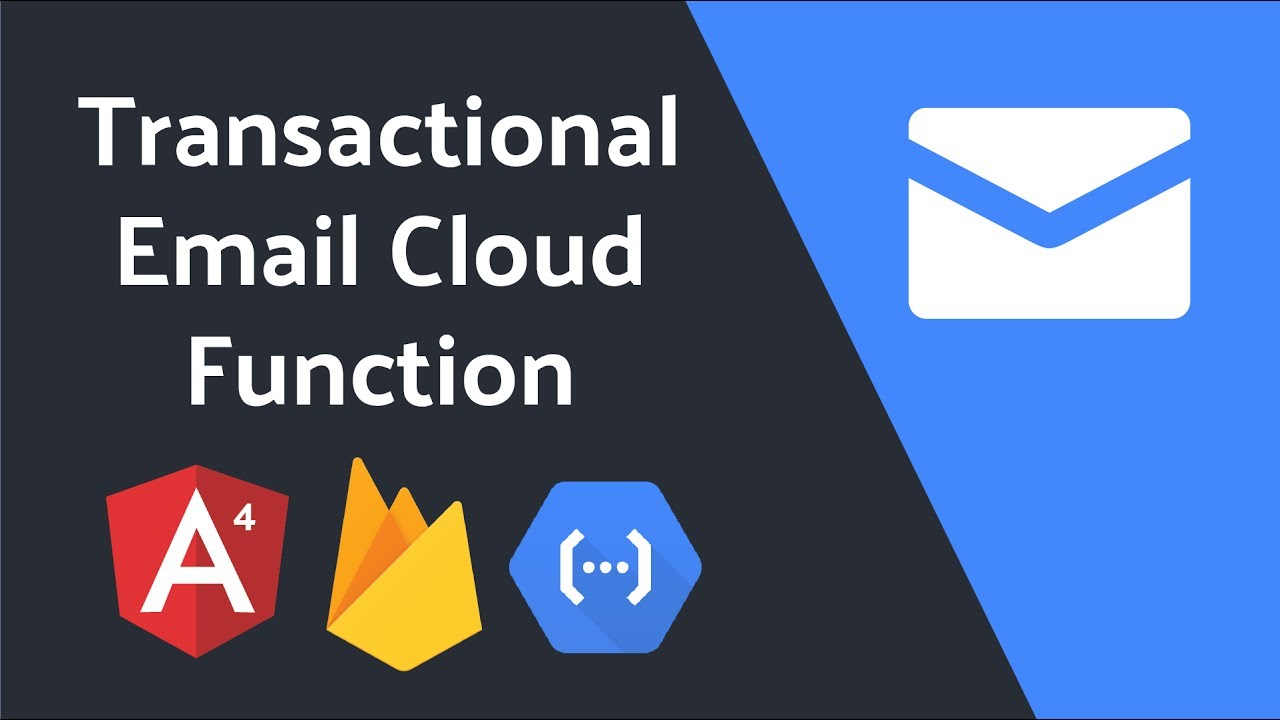 Angular 4 Transactional Email with Google Firebase Cloud Functions