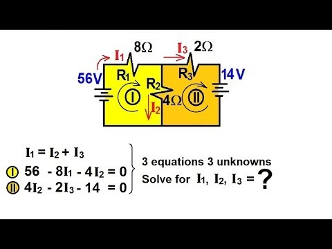 voltage ohms law and kirchhoffs rules Current divider circuits we can fill in our voltage/current/resistance table with 6 volts across the top row: using ohm's law kirchhoff's voltage law.