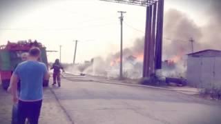 Ужасный пожар в Лабытнанги