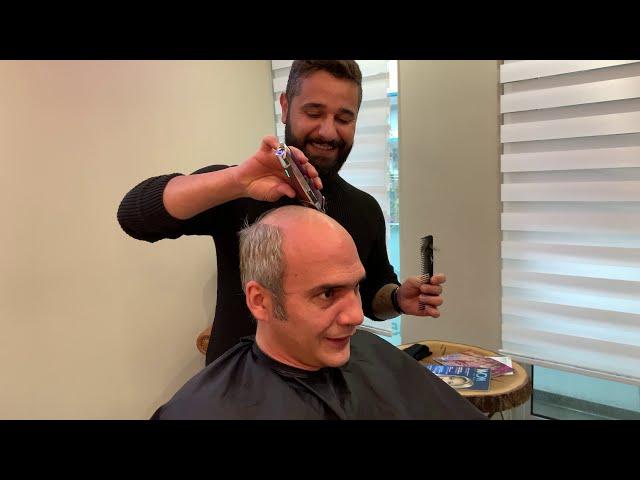 Protez Saç Sistemlerinde Reform Farkı. Protez Saç Kullananlar Antalyada konforu yakaladı.