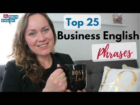 BUSINESS ENGLISH ✅ 25 FAST TOP ENGLISH PHRASES FOR ADVANCED FLUENCY