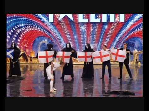 THE CHIPPENDOUBLES - A STRIP ACT WITH A DIFFERENCE ON BRITAINS GOT TALENT