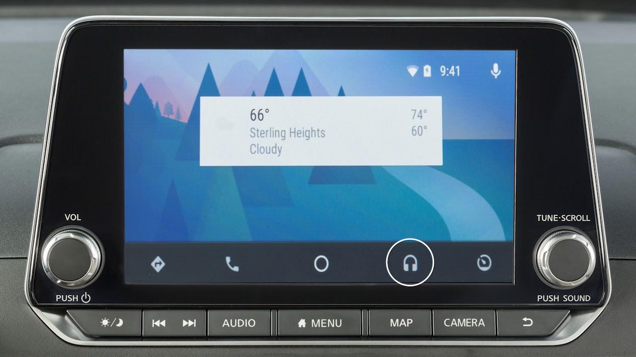 2019 Nissan Altima - Android Auto™