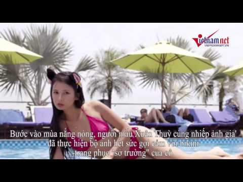 Người mẫu Xuân Thuỳ gợi cảm với bikini