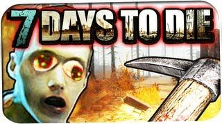 7 days to die ☆ 00 minecraft meets dayz ☆ lets play 7 days to die