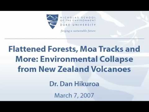 Flattened Forests, Moa Tracks and More: Environmental Collapse from New Zealand Volcanoes