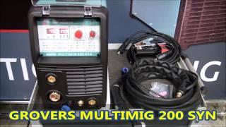 сварочный аппарат Grovers MULTIMIG-200