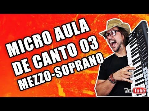 MEZZO SOPRANO MICRO AULA DE CANTO 03