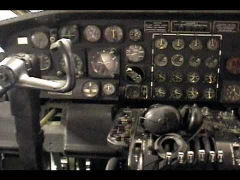 Convair B-36 Peacemaker at PIMA interior tour