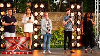Group 9 cover Michael Jackson hit | Boot Camp |The X Factor UK 2015