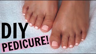 Step-By-Step Pedicure at HOME! | SAVE TIME + $$!