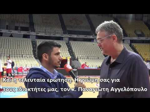 San Antonio Spurs General Manager R.C. Buford On Vassilis Spanoulis