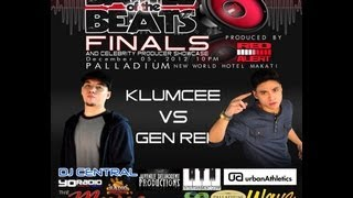 Battle of the Beats Finals 2012 - KLUMCEE VS GEN REI (Paro Paro Beats)