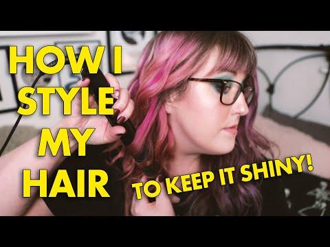 how-i-style-my-hair-to-keep-it-shiny-{spoiler-i'm-very-lazy}