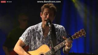John Mayer In the Blood Live