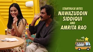 Nawazuddin Siddiqui | Amrita Rao | MasterChef Shipra Khanna | 9XM Startruck Bites