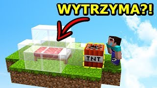 SZKLANA BAZA NA BED WARS VS TNT!